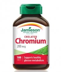JAMIESON Chromium 200 mcg / 100 Tabs