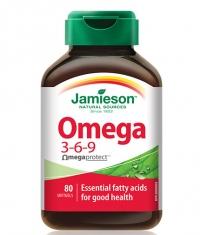 JAMIESON Omega 3-6-9 / 80 Softgels