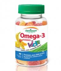 JAMIESON Omega 3 for Kids / 60 Gummies