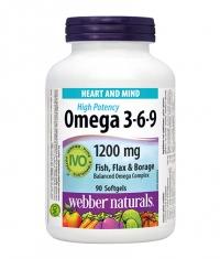WEBBER NATURALS Omega 3-6-9 1200 mg / 150 Softgels