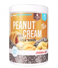 ALLNUTRITION Peanut Cream with Chia Seeds