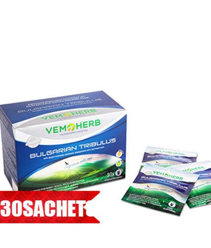 VEMOHERB Bulgarian Tribulus Drink Box / 30x Sachets