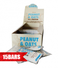 NUTRIM Peanut and Oat Bar / 15 x 50g.