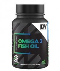DORIAN YATES NUTRITION Renew Omega 3 Fish Oil / Highly Concentrated / 60 Softgels