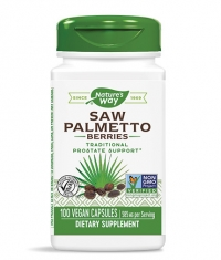 NATURES WAY Saw Palmetto 585mg. / 100 Caps.