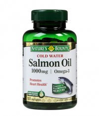 NATURE'S BOUNTY Salmon Oil 1000 mg. / 120 Softgels