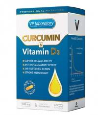 VPLAB VP Laboratory Curcumin & Vitamin D3 / 60 Caps