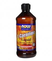 NOW L-Carnitine Liquid /Tropical Punch/ 1000mg. / 473ml.