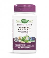 NATURES WAY Garlic & Parsley / 100 Caps.