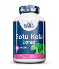 HAYA LABS Gotu Kola Extract / 100 Caps.