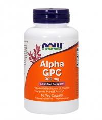 NOW Alpha GPC 300mg. / 60 Caps.