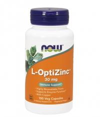 NOW L-OptiZinc ® 30mg. / 100 Caps.