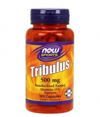 NOW Tribulus Terrestris 500 mg. / 100 Tabs.