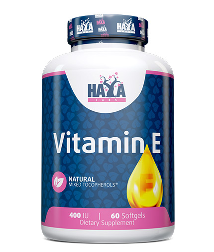 HAYA LABS Vitamin E Mixed 400 IU / 60 Softgels