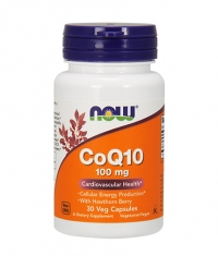 NOW CoQ10 with Hawthorn Berry  100mg. / 30 VCaps.
