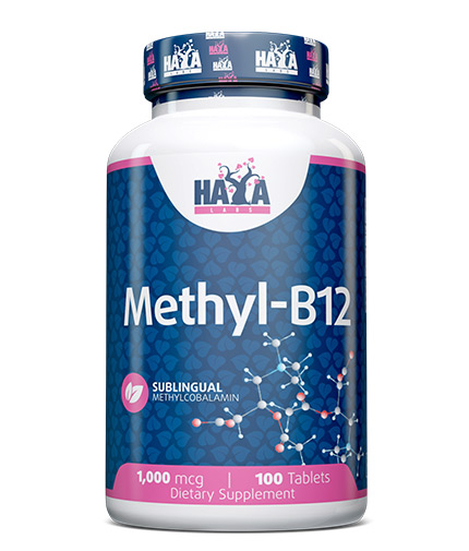 HAYA LABS Methyl B-12 1000mcg / 100 Tabs.
