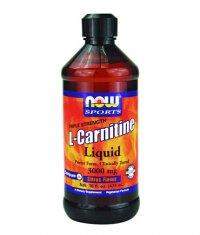 NOW L-Carnitine Liquid 3000mg. / 465 ml.