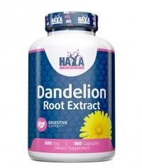 HAYA LABS Dandelion Root Extract (2% Flavonoids)  500mg / 100 Caps.