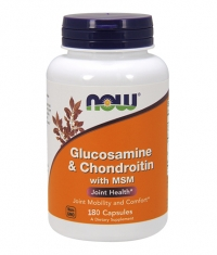 NOW Glucosamine & Chondroitin with MSM / 180 Caps.