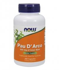NOW Pau D' Arco 500mg. / 250 Caps.