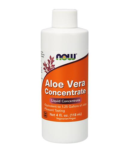 now Aloe Vera Concentrate 118 ml. / 236 Serv.