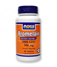 NOW Bromelain 2000 GDU / 500mg. / 90 Tabs.