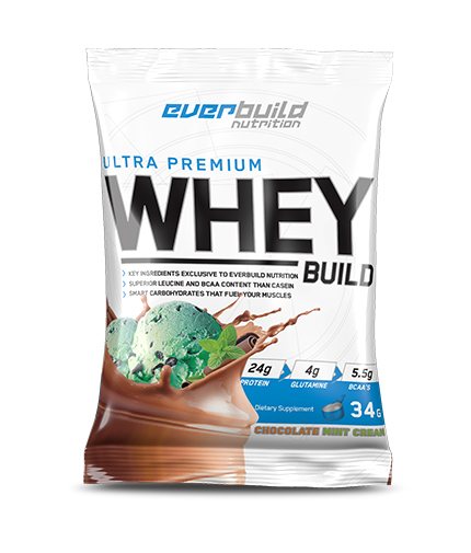 EVERBUILD Everbuild Ultra Premium Whey Build Sachet / Chocolate Mint Cream
