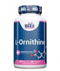 HAYA LABS L-Ornithine 500 mg / 60 Caps.