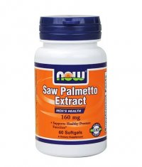 NOW Saw Palmetto /Double Strength/ 160mg. / 60 Softgels