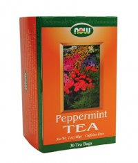NOW Peppermint Tea 30 Bags