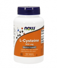 NOW L-Cysteine 500mg. / 100 Tabs.