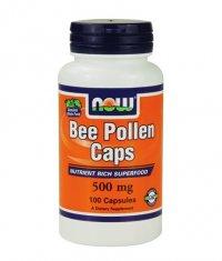 NOW Bee Pollen 500mg. / 100 Caps.