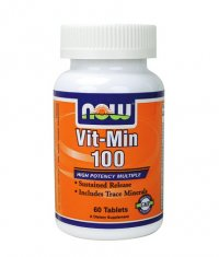 NOW Vit-Min 100 Multiple /Sustained Release High Potency/ 60 Tabs.