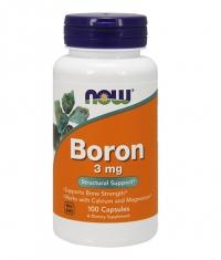 NOW Boron 3 mg. / 100 Caps.