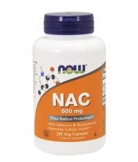 NOW NAC 600mg. / 250 Caps.