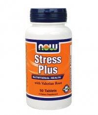 NOW Stress Plus /Vegetarian/ 50 Tabs.