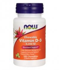 NOW Vitamin D-3 5000 IU / 120 Chewables