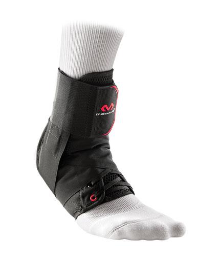 MCDAVID Ultralight Ankle w/Strap /Black/