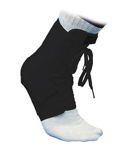 MCDAVID Laced Ankle Guard /Black/