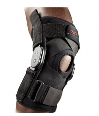 MCDAVID Hinged Knee Brace With Crossing Straps