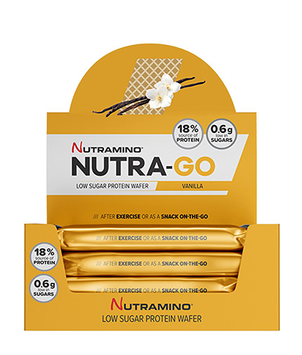nutramino Nutra-Go Protein Wafer Box 12x39