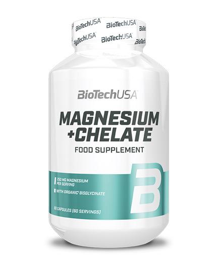 biotech-usa Magnesium + Chelate / 60 Caps