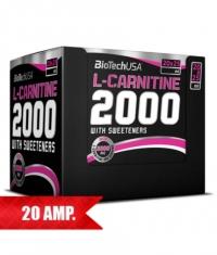 BIOTECH USA L-Carnitine 2000 mg. / 20 Amp.