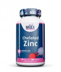 HAYA LABS Zinc Bisglycinate 30mg / 100 Tabs