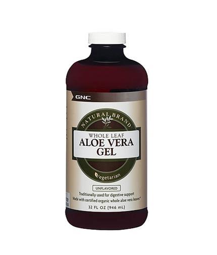 gnc Natural Brand Aloe Vera Gel 946ml.