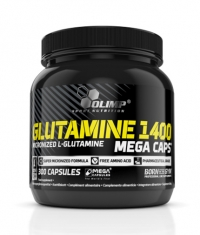 OLIMP L-Glutamine Mega Caps 1400 mg. / 300 Caps.