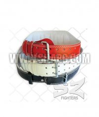 SZ FIGHTERS Fitness Belt / Leather 15cm.
