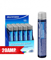 MULTIPOWER Guarana Shot /20 x 25 ml./