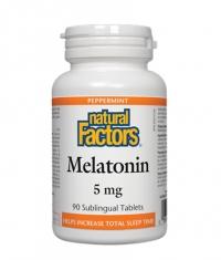 NATURAL FACTORS Melatonin 5mg / 90 Tabs.