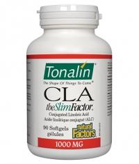 NATURAL FACTORS Tonalin CLA 1000mg. / 90 Softgels.